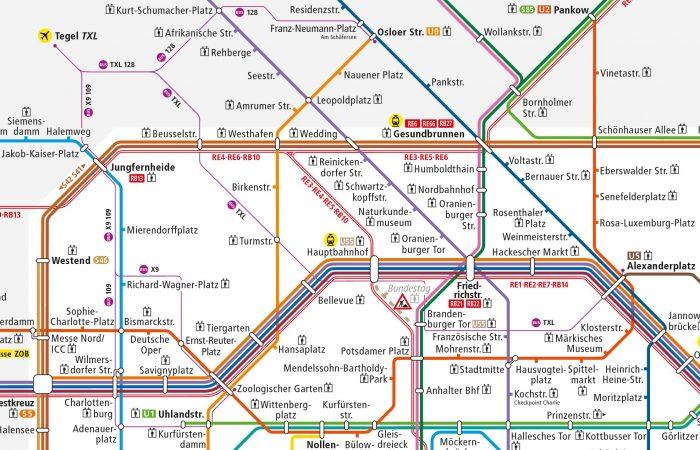 Автобусы в аэропорт Берлина Тегель